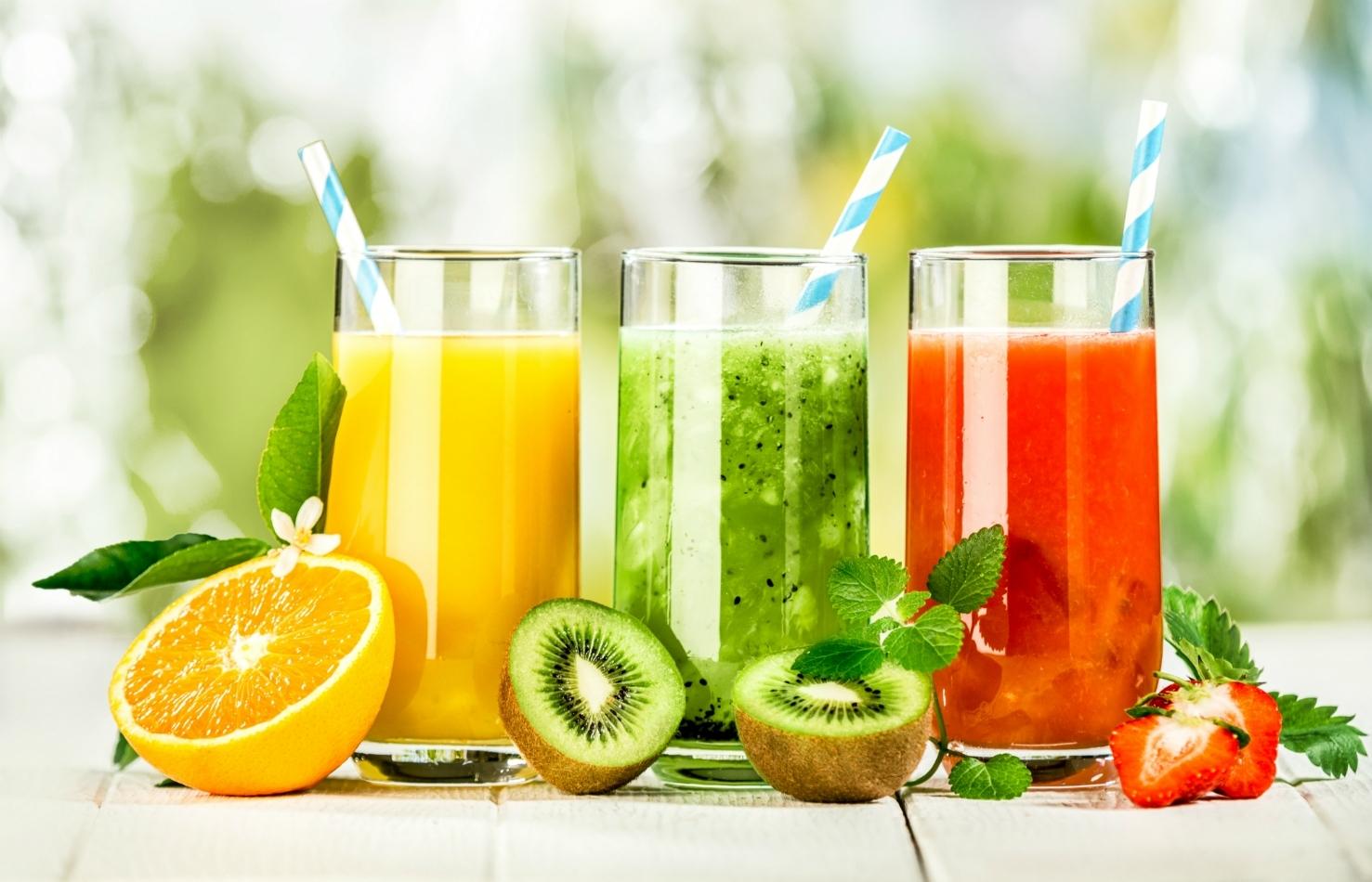 fresh juice production