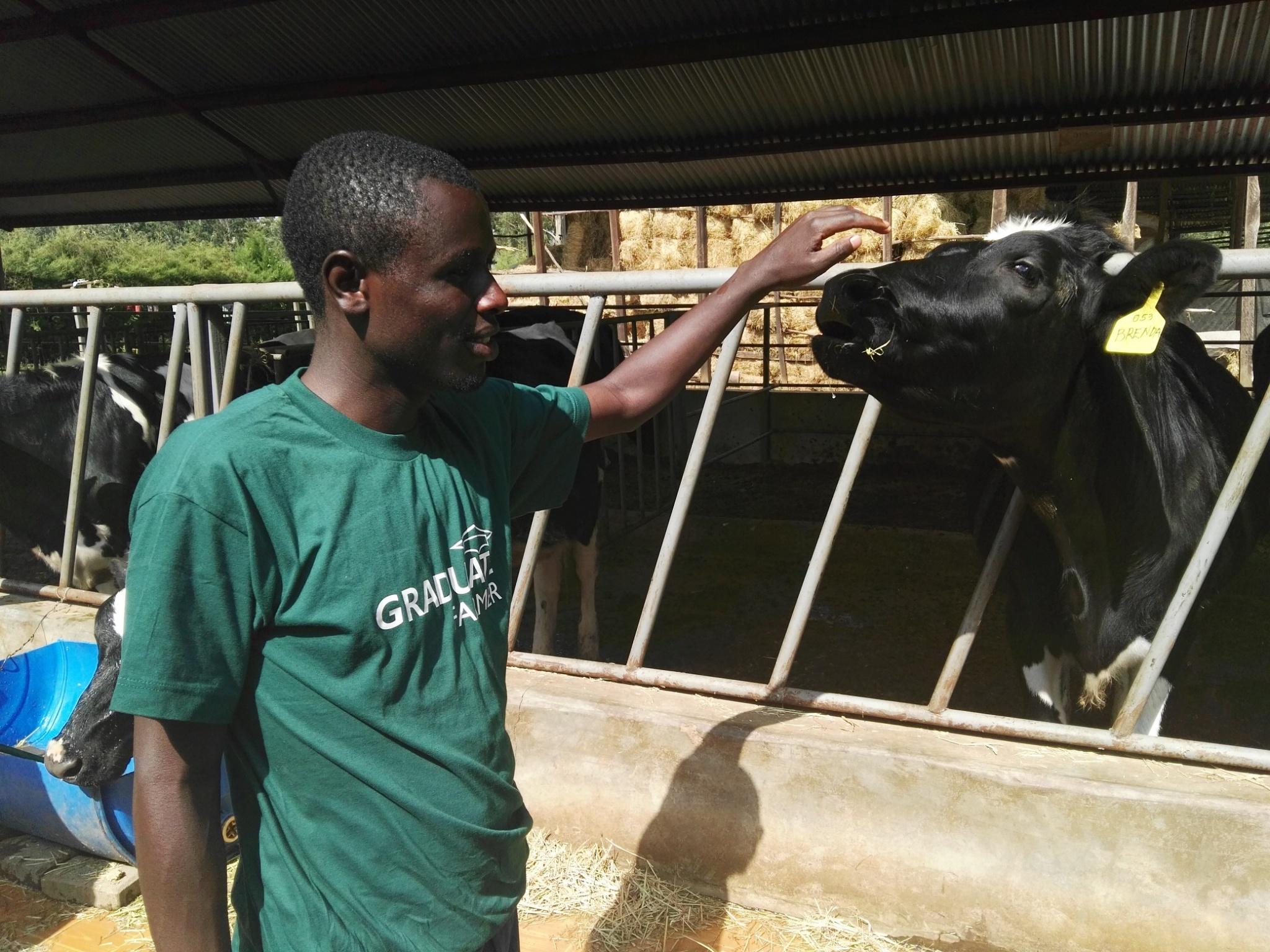 Photo of Mercy Corps Kenya and Graduate Farmer Youth Training Program
