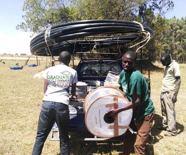 Photo of Graduate Farmer Drip Irrigation Kit