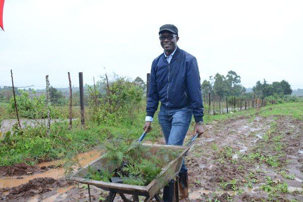 Photo of IEBC CEO Chiloba retreats to farming in Trans Nzoia