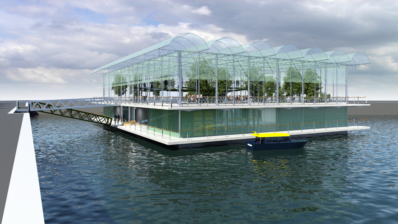 Photo of World's First Floating Dairy Farm